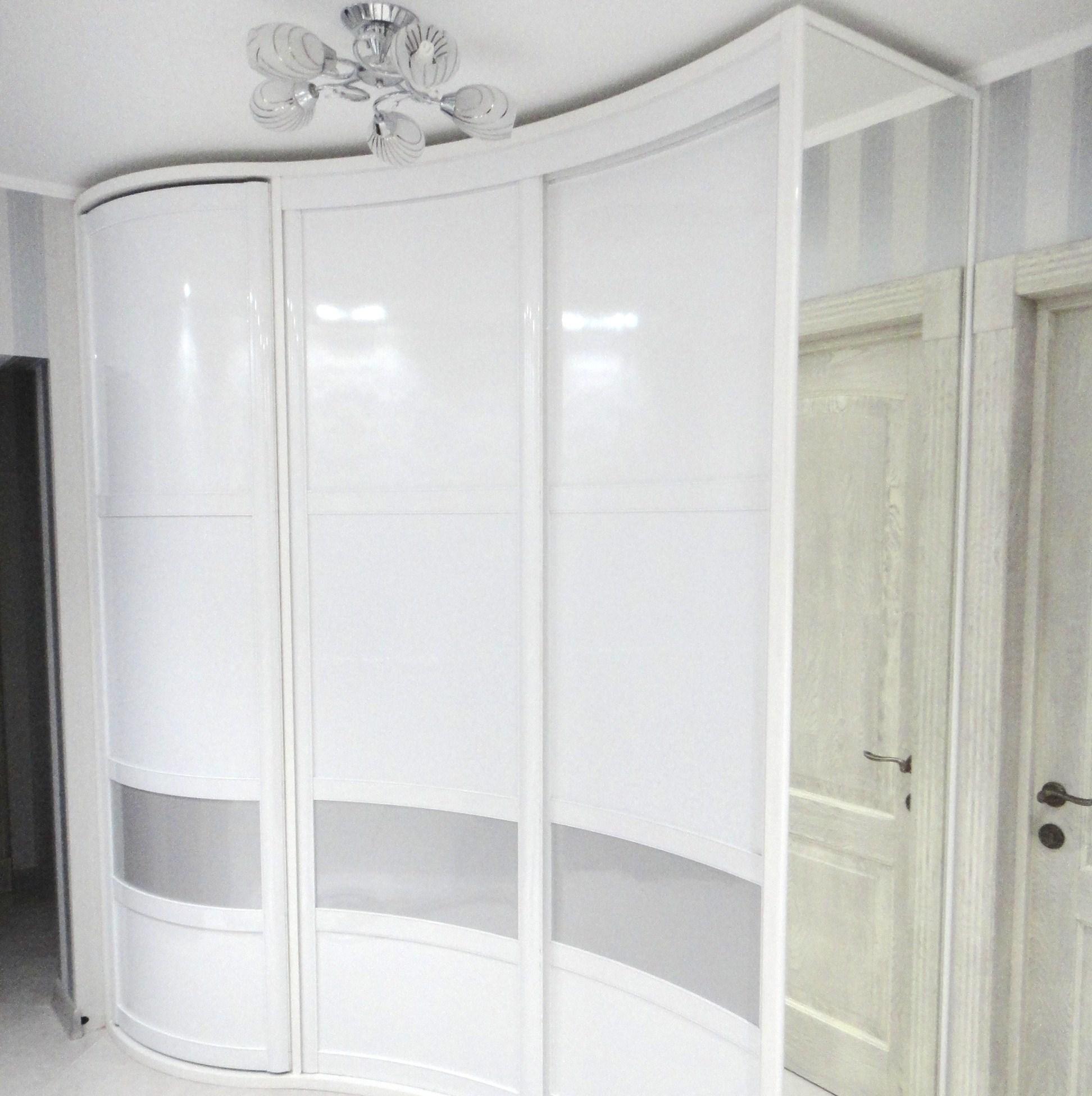 Профиль для радиусных дверей-купе , шкафов-купе.